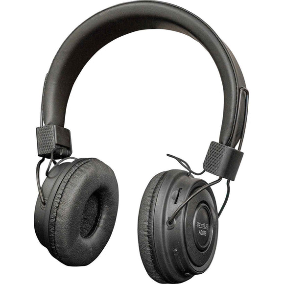 SOUNDLAB A083B - Wireless Bluetooth On Ear Headphones (black)