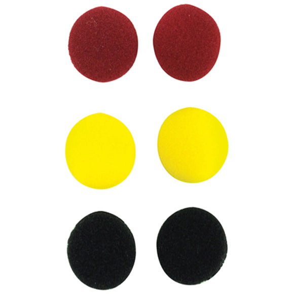 Soundlab A070AD - Coloured Replacement Earphone Pads x 3 Pairs
