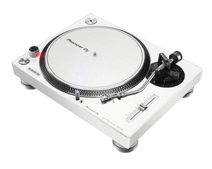 PIONEER PLX-500-W - WHITE PRO DJ Hi Torq S-Tonearm Direct Drive Turntable