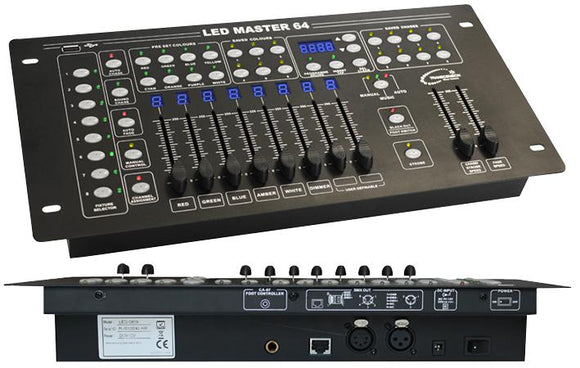TRANSCENSION LED MASTER 64 - DMX Lighting Controller