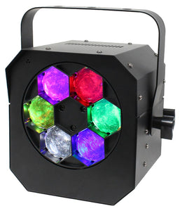 EQUINOX HYPNOS - RGBW LED Quad Hypnotic Effect Light