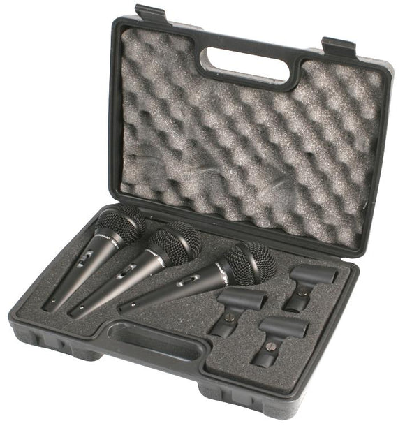 PULSE PM1800T - Dynamic Vocal Handheld Microphones (3 Pack)