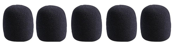 PULSE MWS-BK-5PK - Black Microphone Windshields, Pack of 5