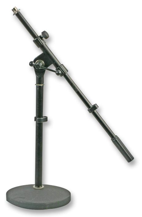 PULSE PLS00047 - Short Microphone Stand with Boom