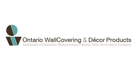 ontario wallcovering and decor products logo