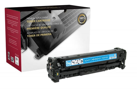 Clover Technologies Group, LLC Remanufactured Cyan Toner Cartridge for HP CE411A (HP 305A)