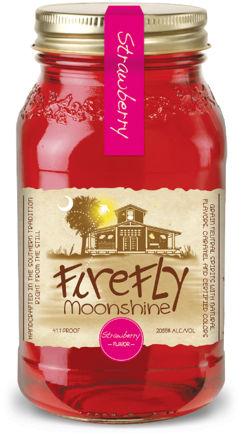 Firefly Moonshine Strawberry 0,7L (20,55% Vol.)