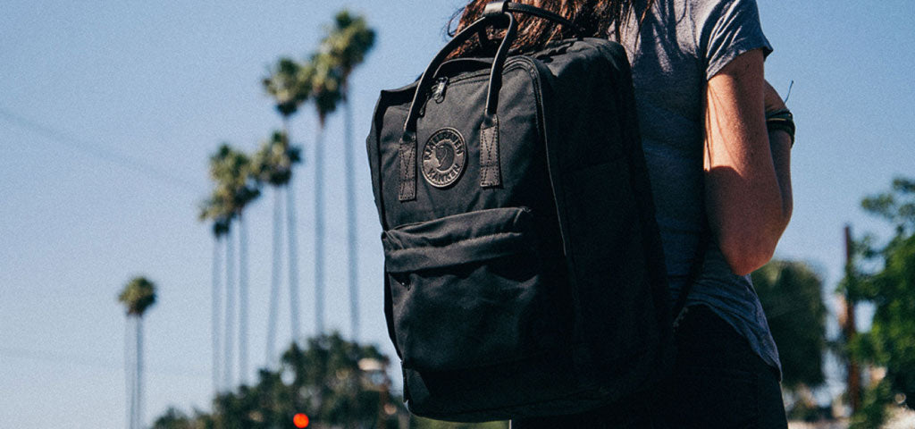 No 2 Fjallraven Kanken Bag Colour Black