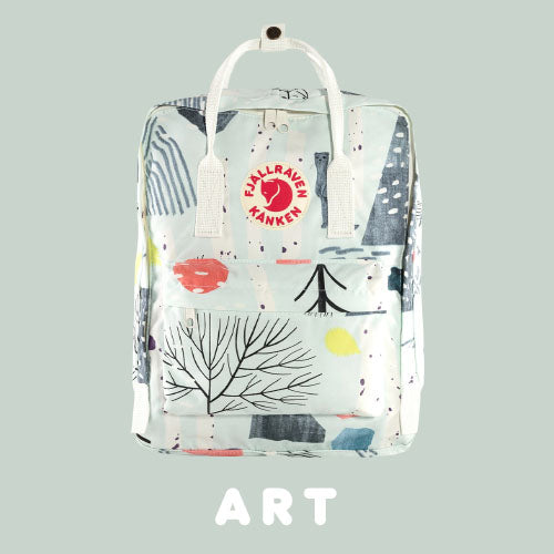 Kanken Art Classic Backpack Colour Summer Landscape