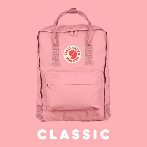 Fjallraven Kanken Classic Bag Colour Red