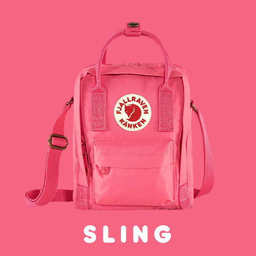 Fjallraven Kanken Sling Cross Body Bag Colour Pink