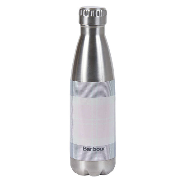 Barbour Tartan Water Bottle Pink / Grey Tartan