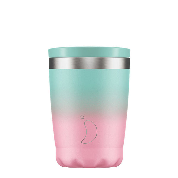 Chillys 340ml Coffee Cup Gradient Pastel
