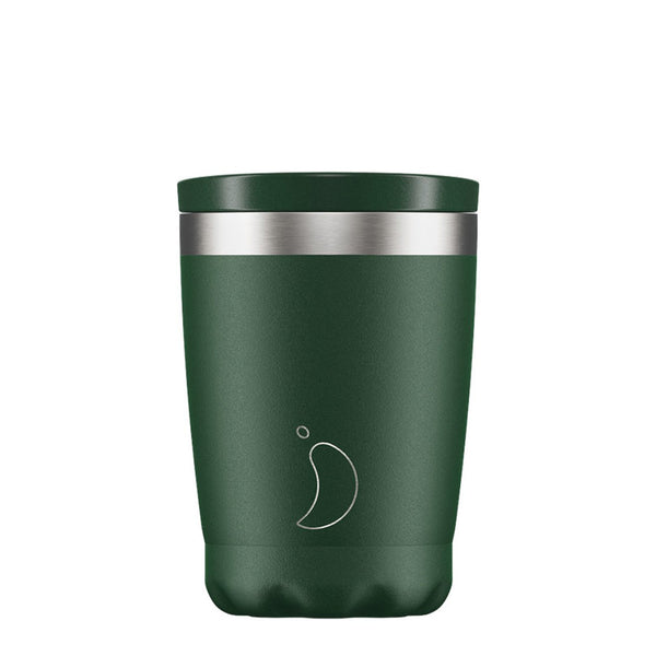 Chillys 340ml Coffee Cup Matte Green