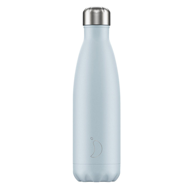 Chillys 500ml Water Bottle Blush Blue
