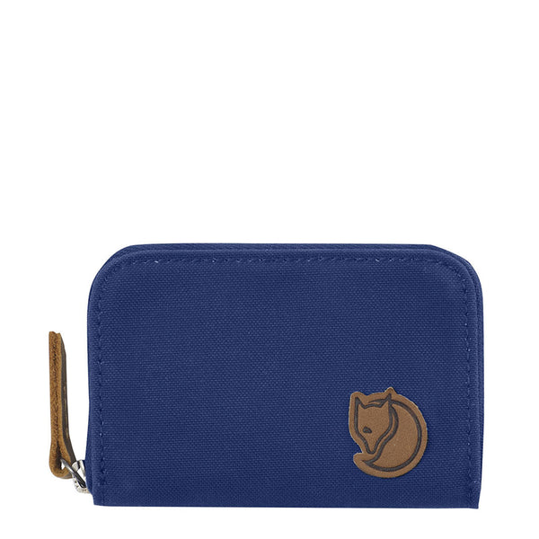 Fjallraven Zip Card Holder Deep Blue