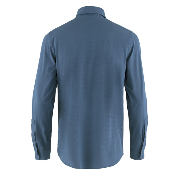 Fjallraven Abisko Trekking Shirt Uncle Blue