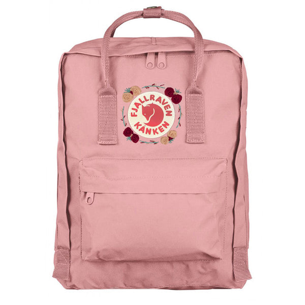 Fjallraven Kanken Classic Embroidered Backpack Pink 2