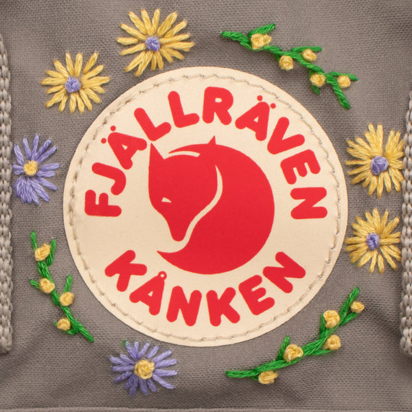 Fjallraven Kanken Sling Cross Body Bag Fog Embroidery