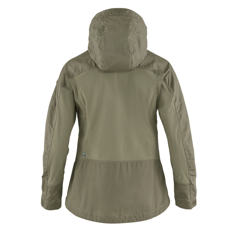 Fjallraven Womens Abisko Lite Trekking Jacket Light Olive