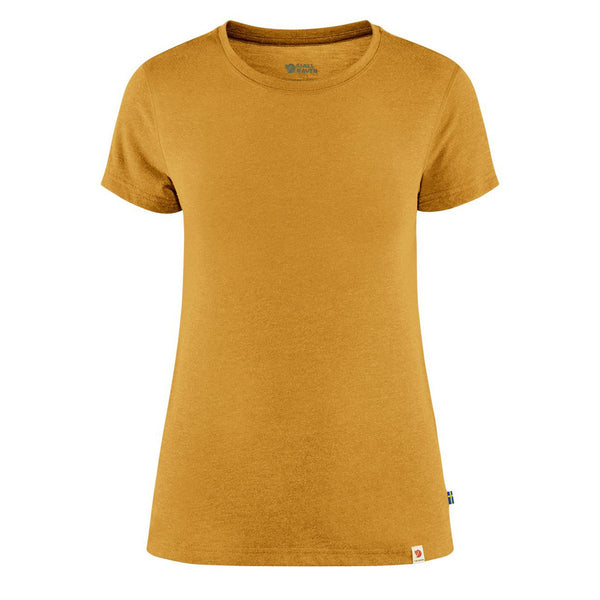 fjallraven-womens-high-coast-lite-t-shirt-ochre-1