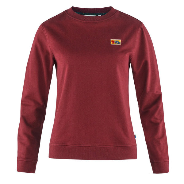 fjallraven-womens-vardag-sweater-red-oak-1