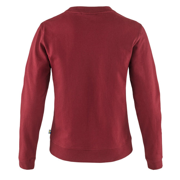 fjallraven-womens-vardag-sweater-red-oak-2