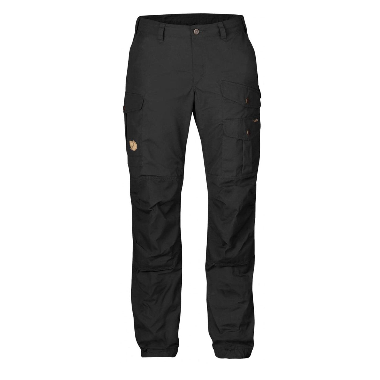 Fjallraven Womens Vidda Pro Trousers Black Black Regular