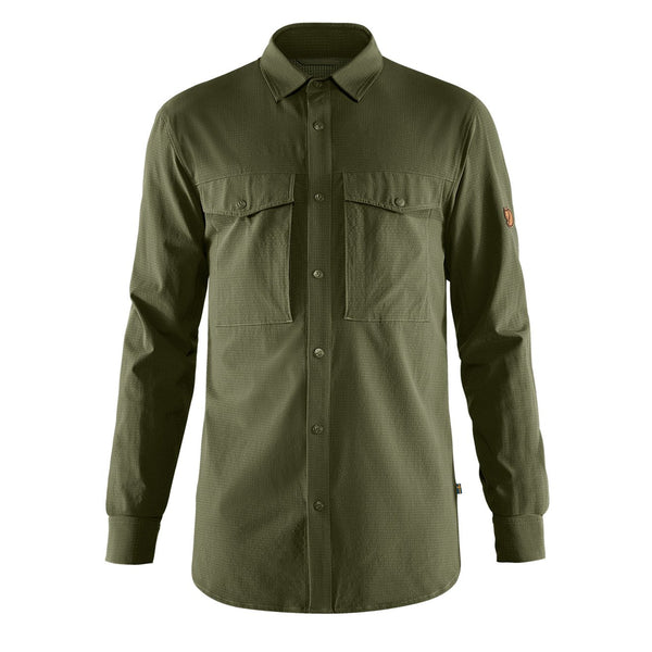 fjallraven-abisko-trekking-shirt-laurel-green-1