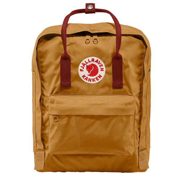 Fjallraven Kanken Classic Backpack Acorn / Ox Red