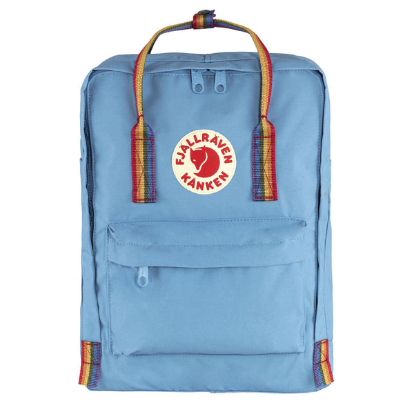 Fjallraven Kanken Rainbow Classic Air Blue / Rainbow Pattern