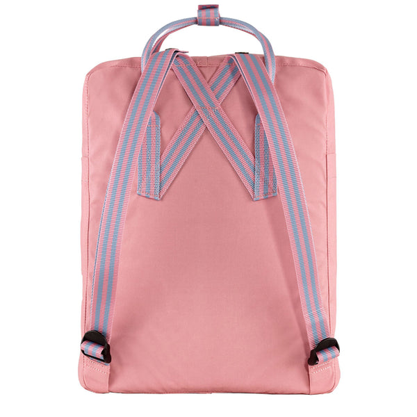 Fjallraven Kanken Classic Backpack Pink / Long Stripe