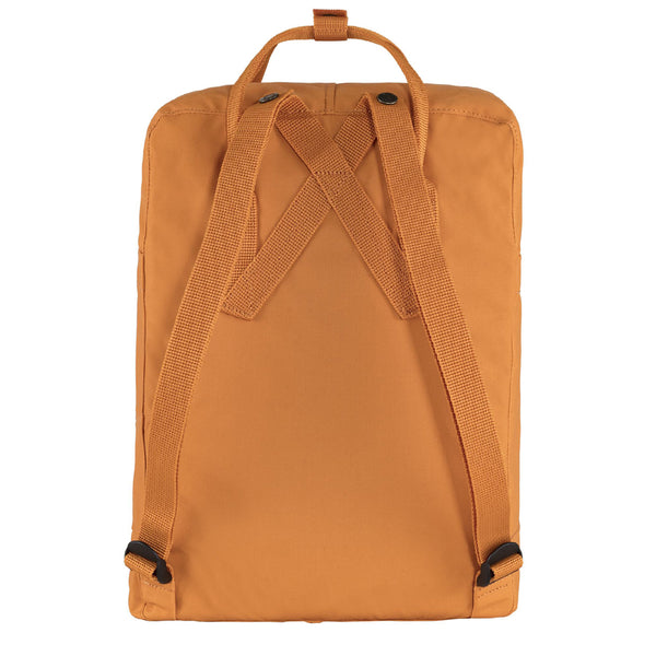 Fjallraven Kanken Classic Embroidered Backpack Spicy Orange