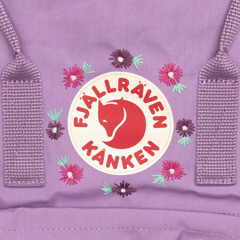 Fjallraven Kanken Classic Embroidered Backpack Orchid