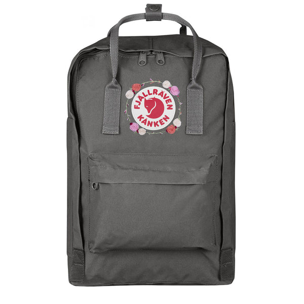 Fjallraven Kanken Laptop 15 Embroidered Super Grey