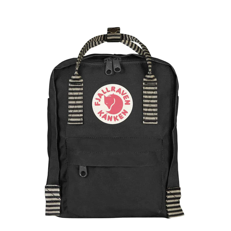Fjallraven Kanken Mini Black Striped