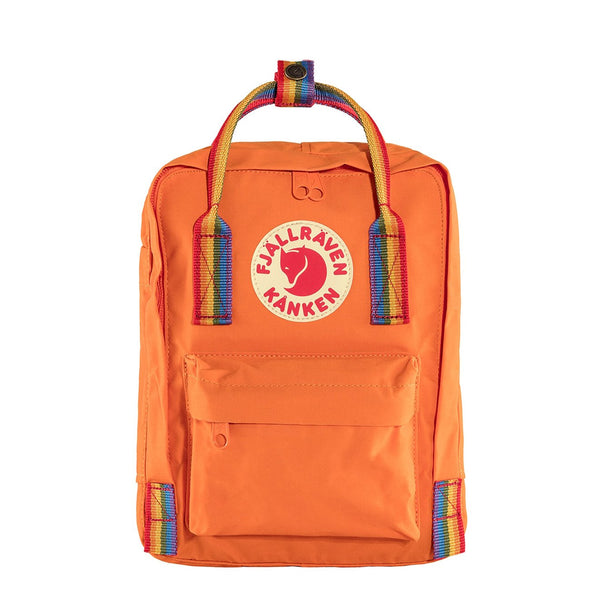 fjallraven-kanken-mini-backpack-burnt-orange-rainbow-pattern-1