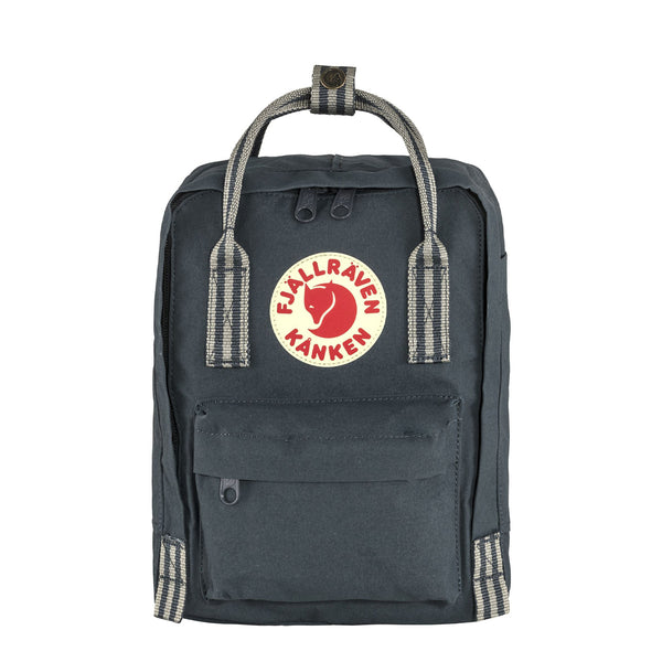 Fjallraven Kanken Mini Backpack Navy / Long Stripe