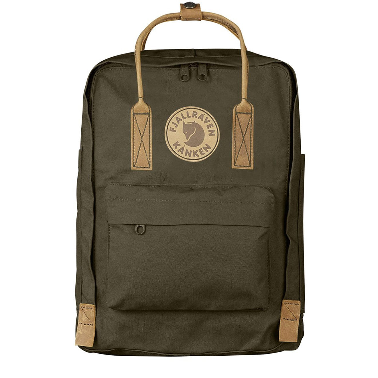 6060b8323 Fjallraven Kanken No 2 Laptop Dark Olive | My Kånken Bag