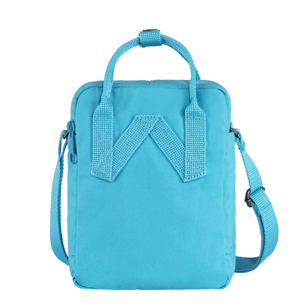 Fjallraven Kanken Sling Cross Body Bag Deep Turquoise Embroidery
