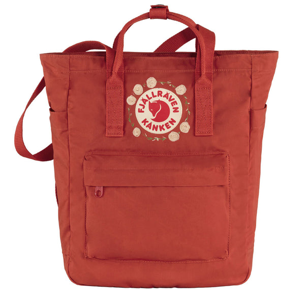 Fjallraven Kanken Totepack Embroidery True Red