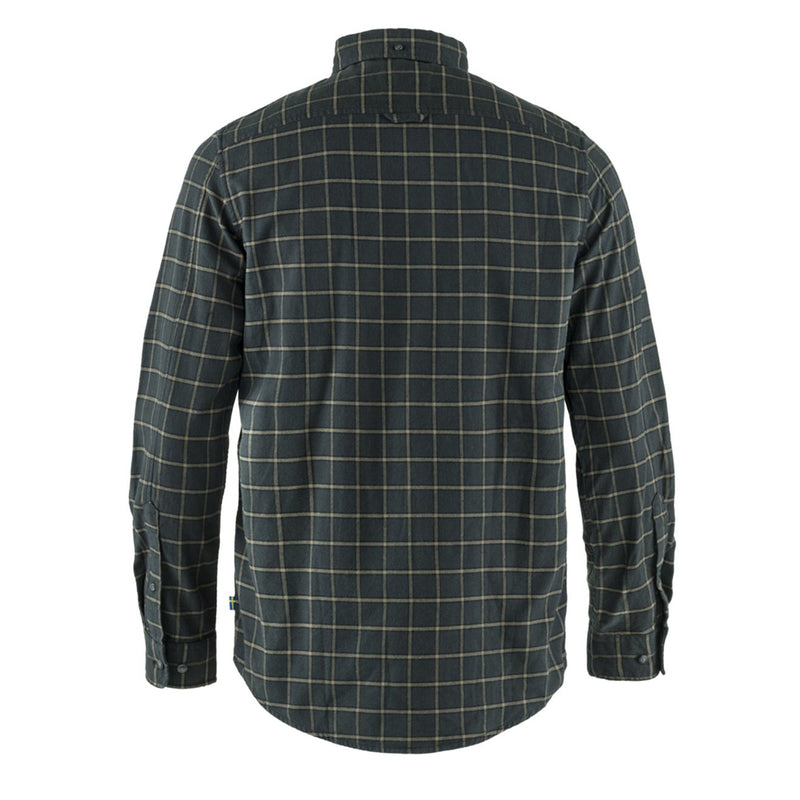 fjallraven-ovik-flannel-shirt-dark-grey-2