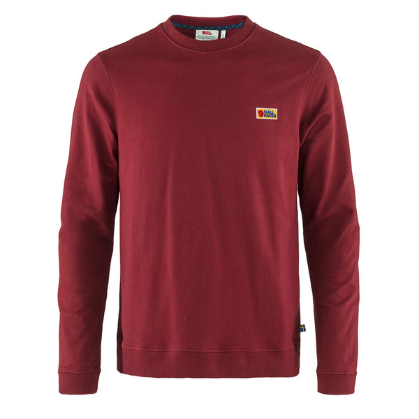 Fjallraven Vardag Sweater Red Oak