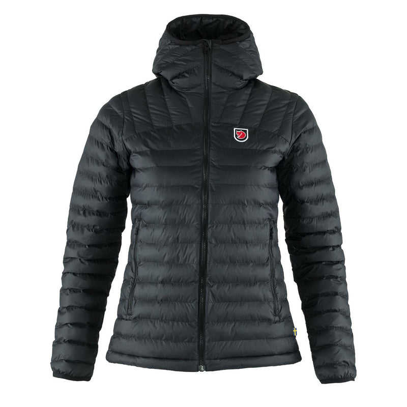 Fjallraven Womens Expedition Latt Hoodie Black