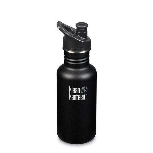 Klean Kanteen Classic Sports Cap 532ml Shale Black