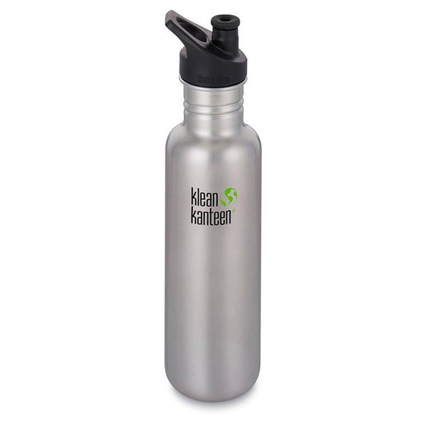 Klean Kanteen Classic Sports Cap 800ml Brushed Stainless