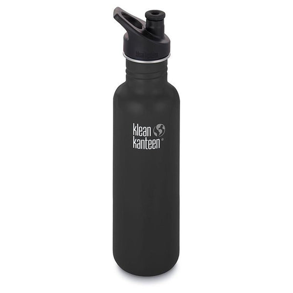 Klean Kanteen Classic Sports Cap 800ml Shale Black