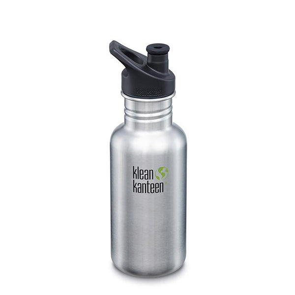 Klean Kanteen Classic Sports Cap 532ml Brushed Stainless