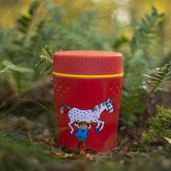 Primus Trailbreak Lunch Jug 400ml Pippi Longstocking Red