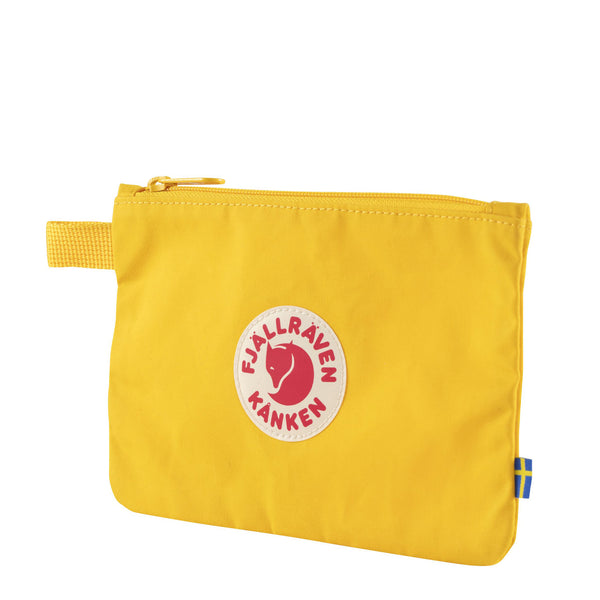 Fjallraven Kanken Gear Pocket Warm Yellow
